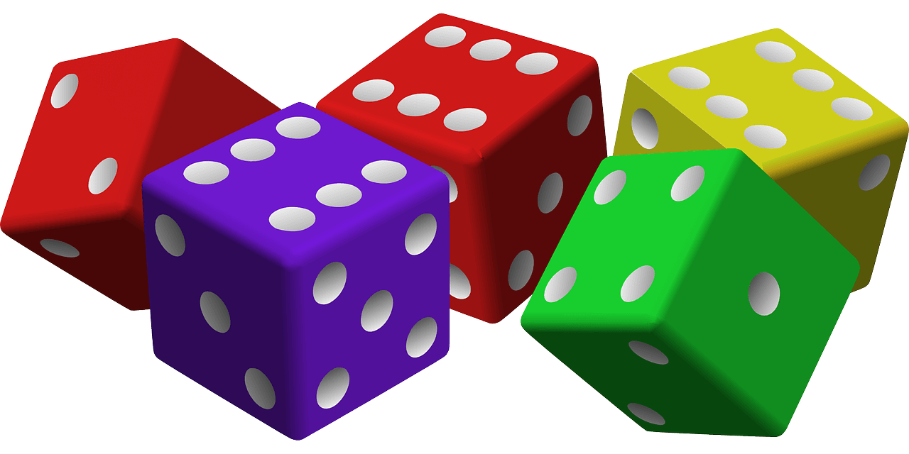 hight resolution of dice clipart bunco