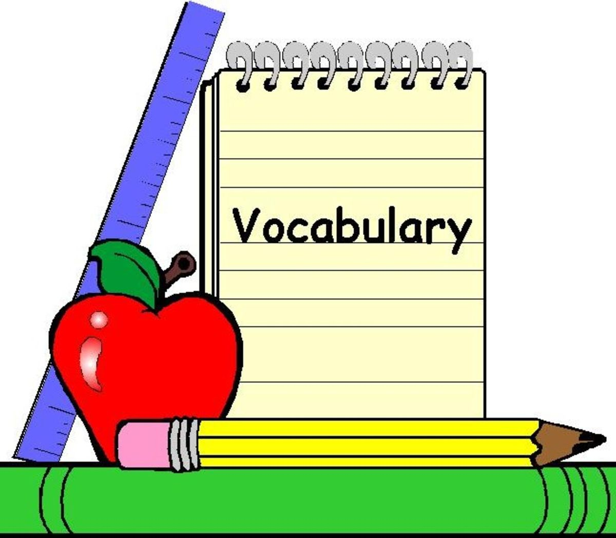 Dictionary Clipart Academic Vocabulary Dictionary