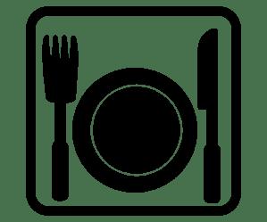 dinner clipart transparent restaurant webstockreview pictogram medium