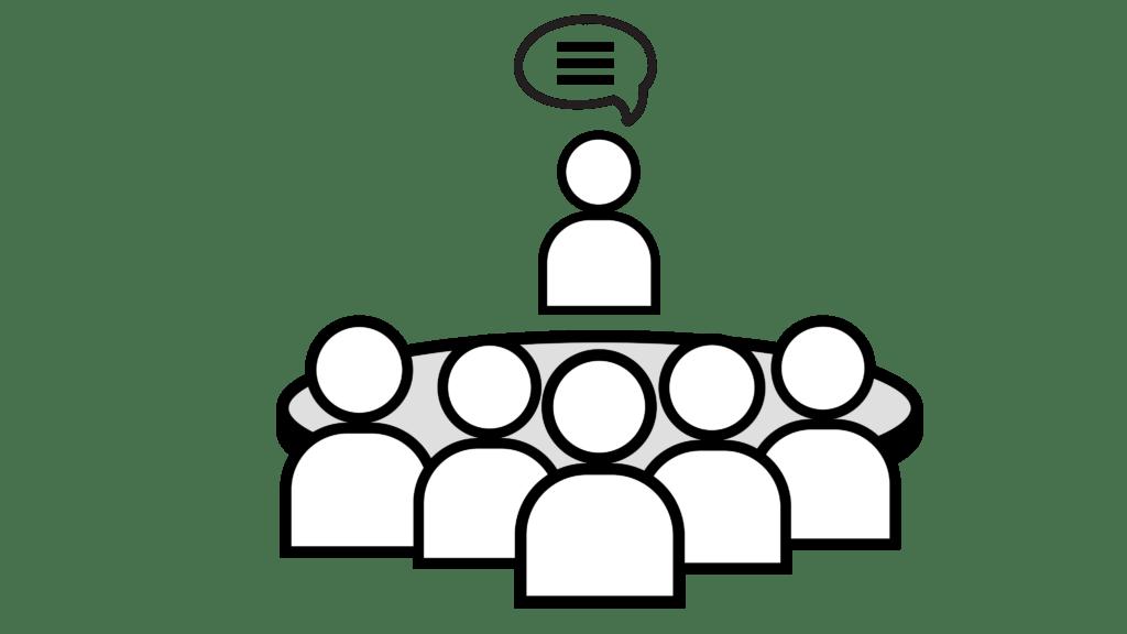 Discussion clipart facilitation, Discussion facilitation