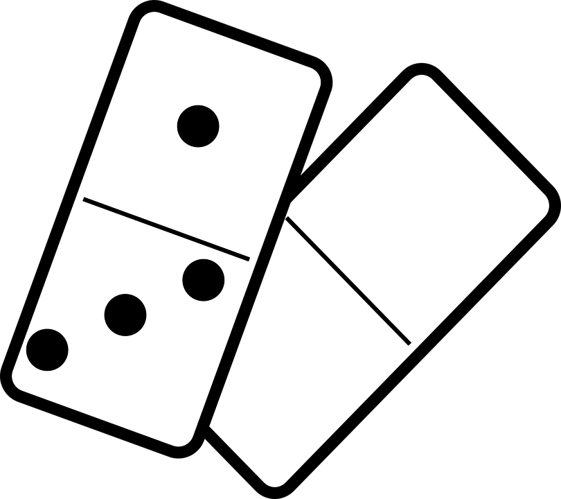 Domino clipart newtons second law, Domino newtons second