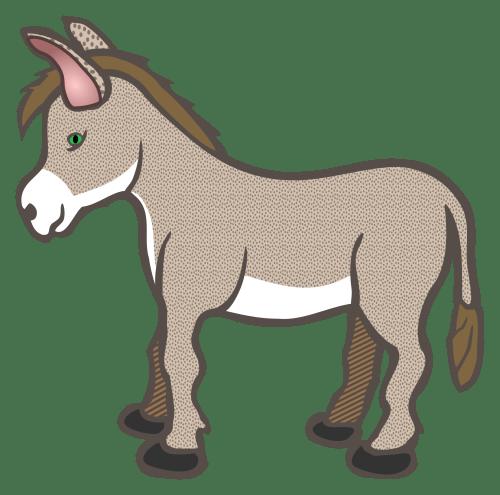 small resolution of nativity clipart donkey panda free images donkeyclipart