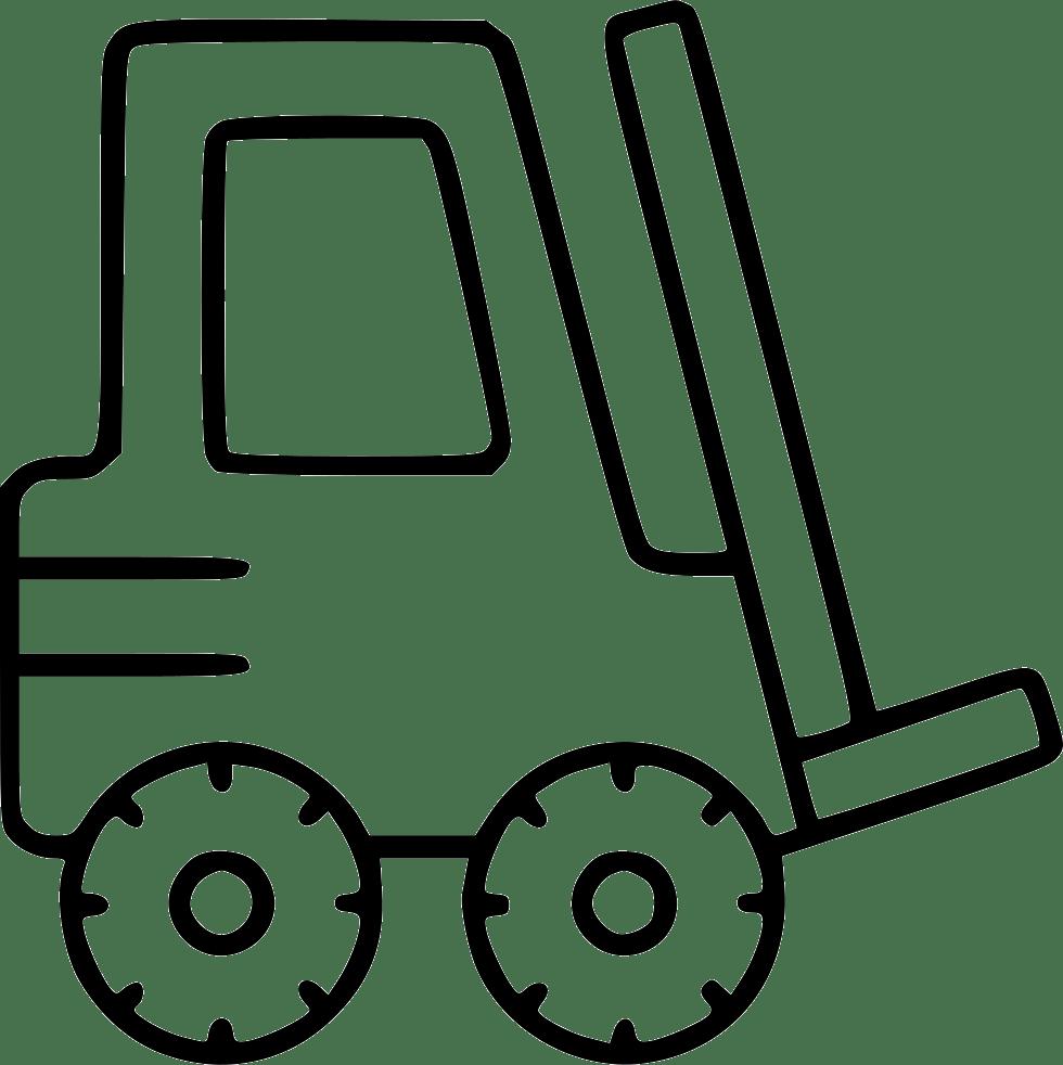 Forklift clipart warehouse worker, Forklift warehouse