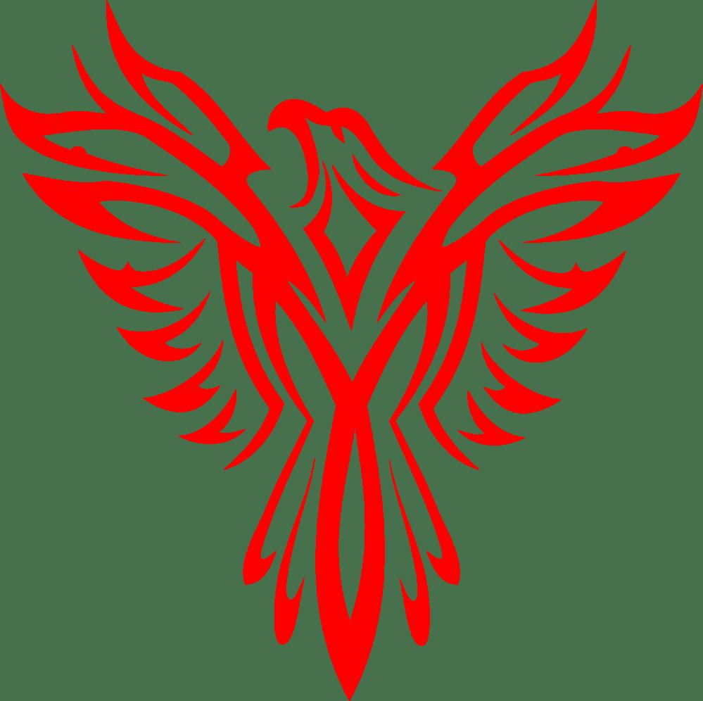 medium resolution of eagles clipart eagle totem pole phoenix line art png