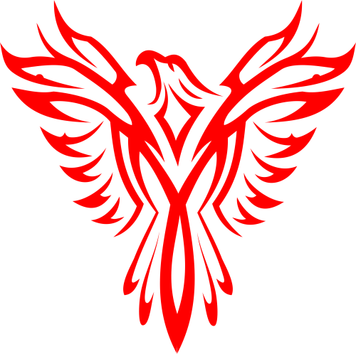 small resolution of eagles clipart eagle totem pole phoenix line art png