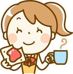clipart eating breakfast eat transparent woman webstockreview