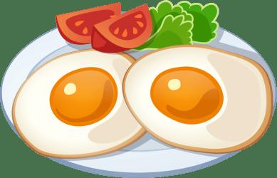 clipart eggs breakfast egg transparent clip hd scotch webstockreview fries frame