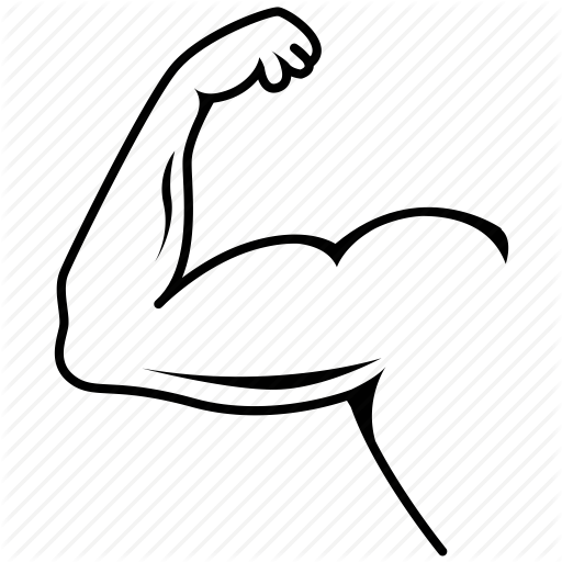 Elbow clipart muscular arm, Elbow muscular arm Transparent