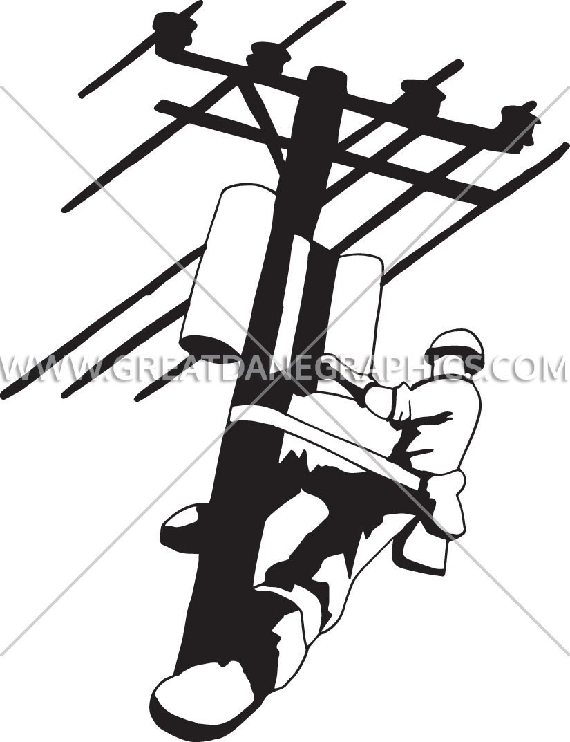 Electrical clipart lineman, Electrical lineman Transparent