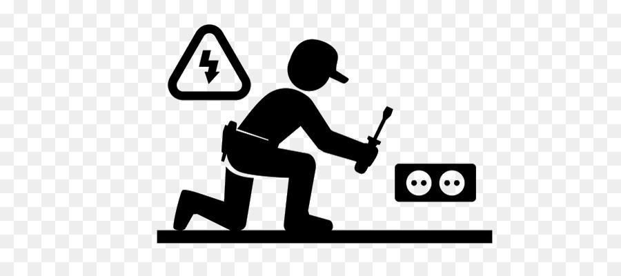 Electrician clipart electrician logo, Electrician