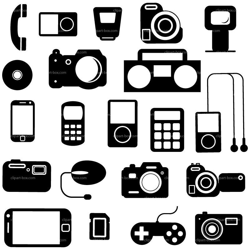Electronics clipart electronics store, Electronics