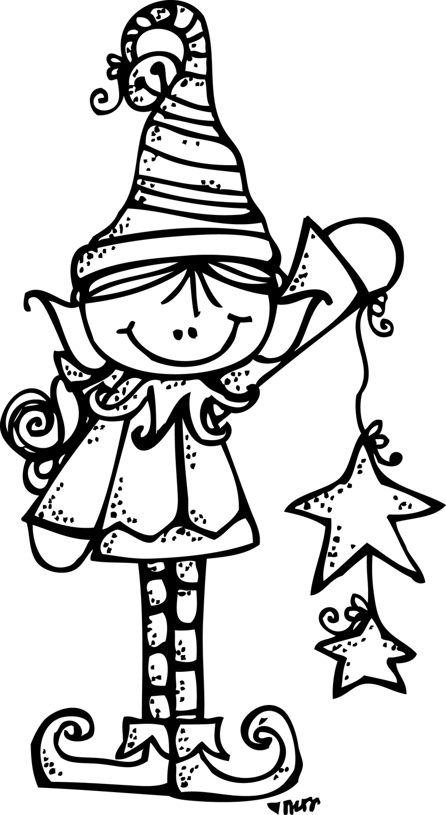 Elves clipart outline, Elves outline Transparent FREE for