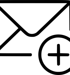add email envelope message svg png free  [ 981 x 840 Pixel ]