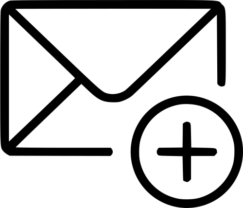 small resolution of add email envelope message svg png free