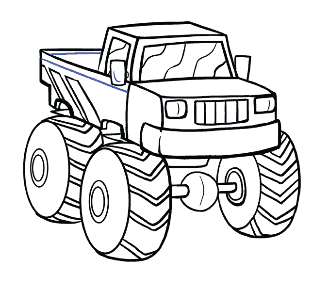 Excavator clipart coloring book, Excavator coloring book