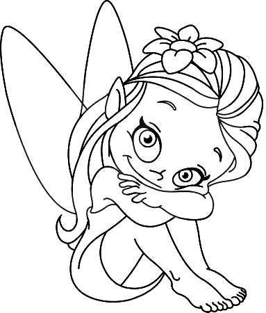 Fairy clipart outline, Fairy outline Transparent FREE for