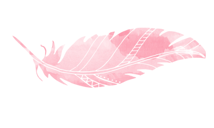 pink feather watercolor clipart flamingo feathers clip transparent background bir light bluefeather