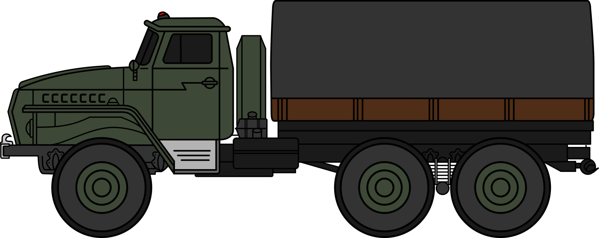hight resolution of soldiers clipart truck ural military coloured big