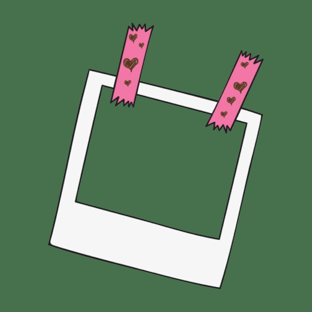Polaroid clipart cute, Polaroid cute Transparent FREE for
