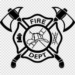 clipart symbol firefighter fireman fire department maltese transparent webstockreview cigar