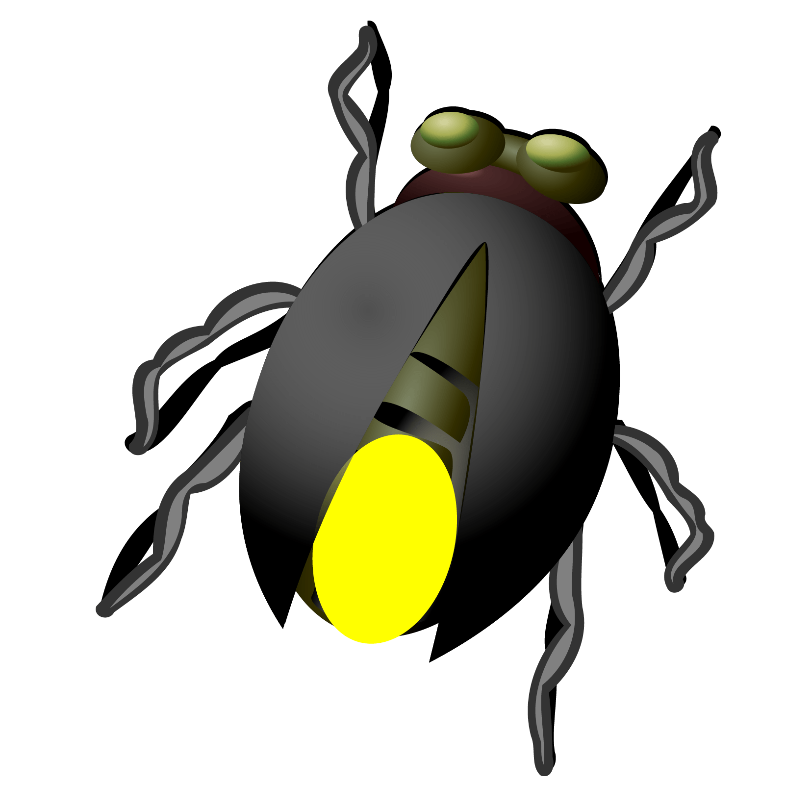 Firefly Clipart Hand Drawn Firefly Hand Drawn Transparent