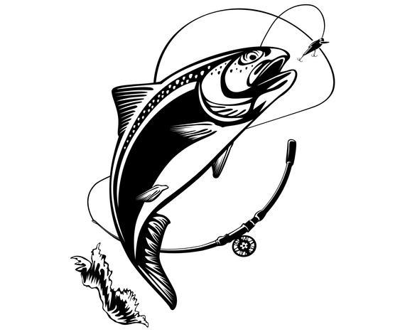 Download Rainbow Trout Svg Free Novocom Top