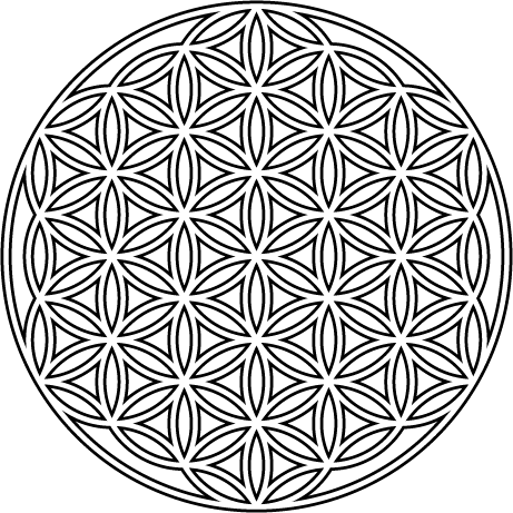 Flower of life png, Flower of life png Transparent FREE
