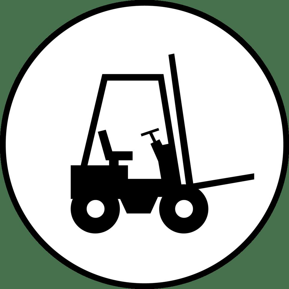 Forklift clipart drawing, Forklift drawing Transparent