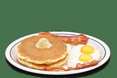 clipart pancakes ihop eggs breakfast bacon sausage buttermilk thanksgiving pannekoek plate transparent links strips smoked pork chip nj food egg