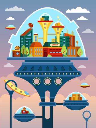 Future Clipart : future, clipart, Future, Clipart, Futuristic, House,, Picture, #2736503, House