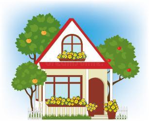 Garden clipart home garden Picture #2739957 garden clipart home garden