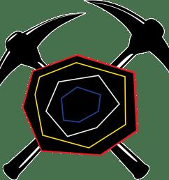 hillbilly clipart gem mining tabasco geodes marquez [ 1500 x 1383 Pixel ]