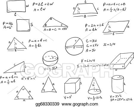 Geometry clipart formula, Geometry formula Transparent