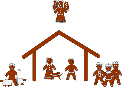 small resolution of free nativity clipart silhouette clipart