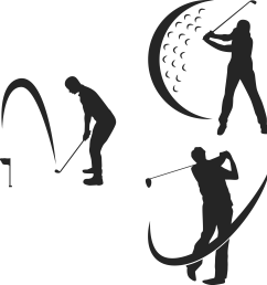 equipment sport tee play transprent png free golfing clipart  [ 2244 x 2355 Pixel ]