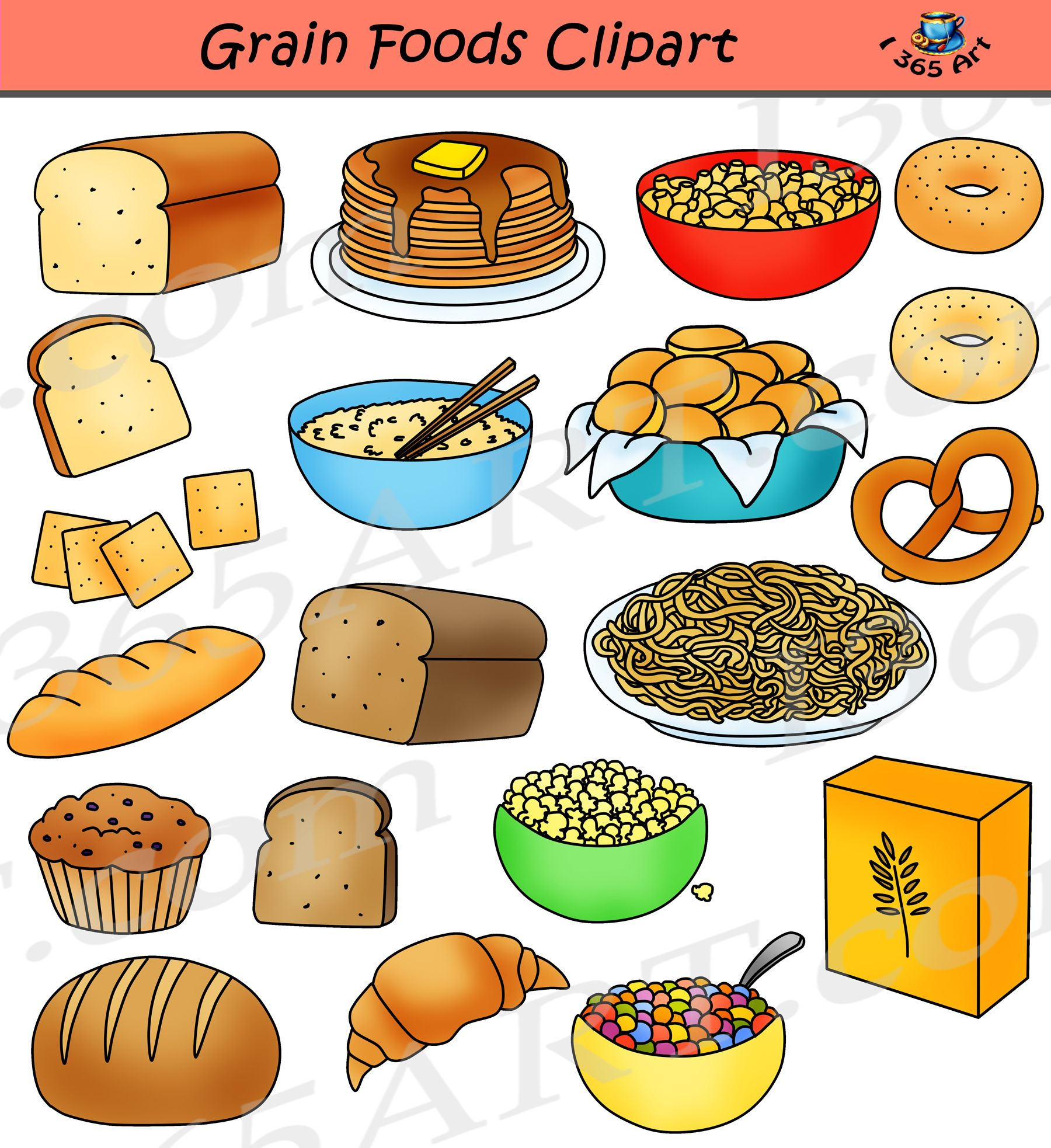 Grains Clipart Grain Food Group Grains Grain Food Group