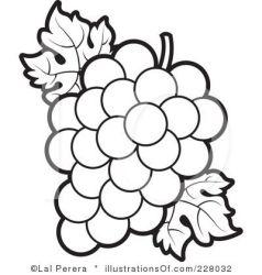 Grape clipart line art Picture #2774368 grape clipart line art
