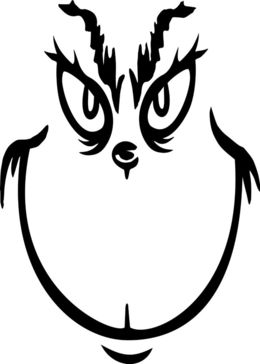 Grinch clipart face, Grinch face Transparent FREE for