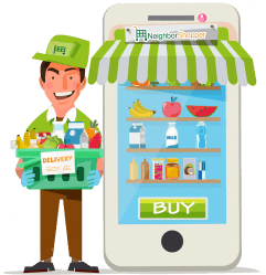 grocery clipart delivery transparent webstockreview case study demand explore bevarages snacks