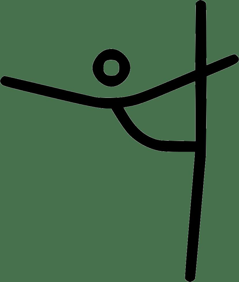 Gymnastics clipart aerobic, Gymnastics aerobic Transparent