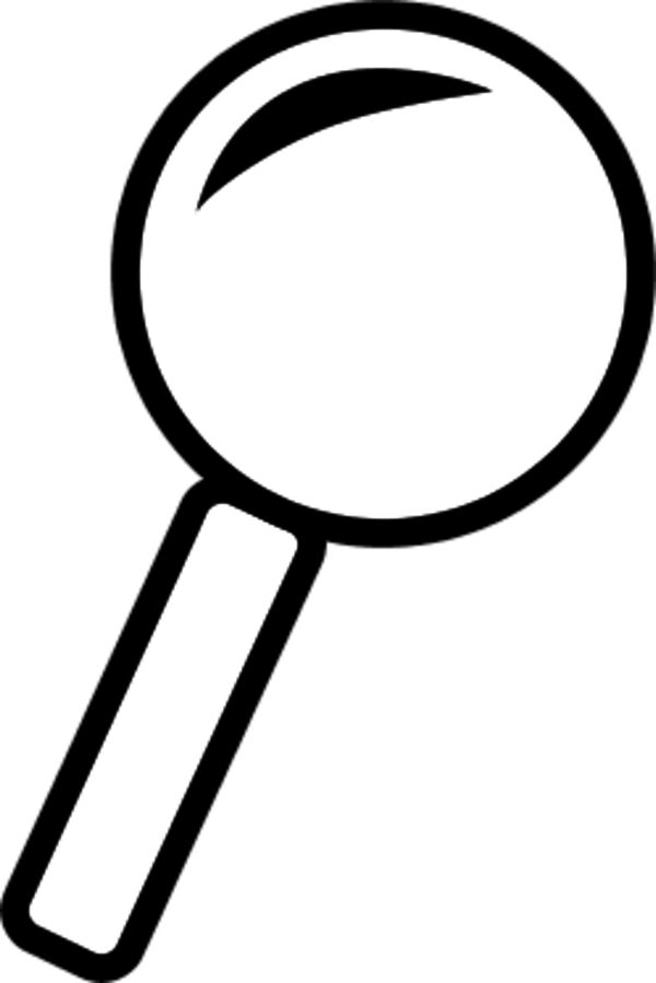 Microscope clipart hand lens, Microscope hand lens