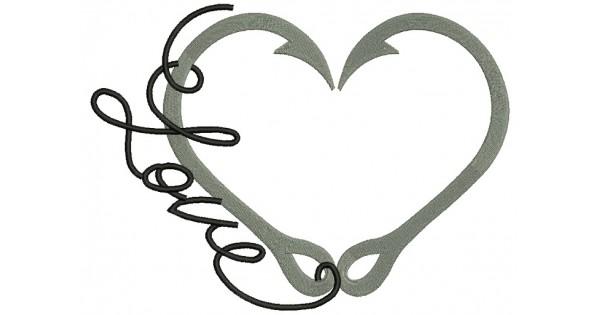 Download Hook clipart fishing love, Hook fishing love Transparent ...