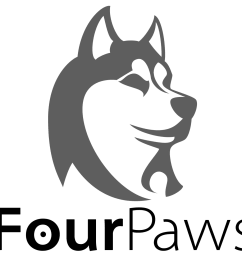four paws walking adopts closed by deadonarrival husky clipart sled dog [ 1464 x 1234 Pixel ]