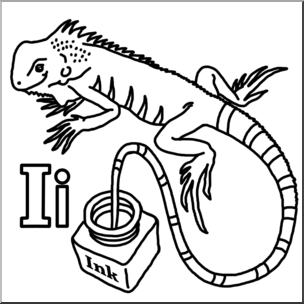 Iguana clipart letter, Iguana letter Transparent FREE for