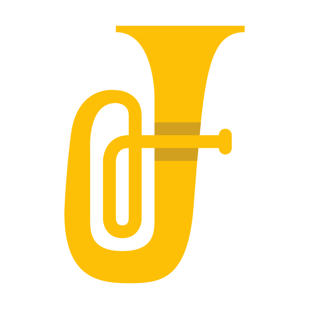 medium resolution of sousaphone silhouette at getdrawings instruments clipart tuba