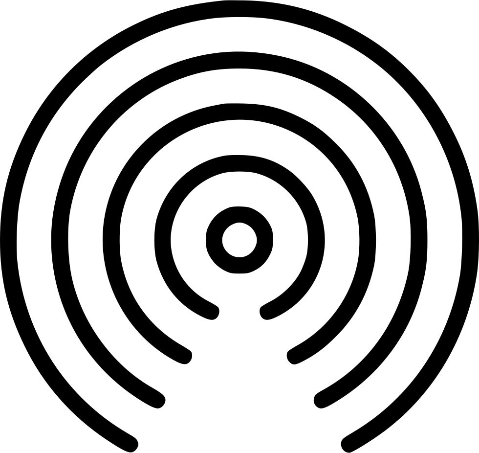 Internet clipart radio signal, Internet radio signal