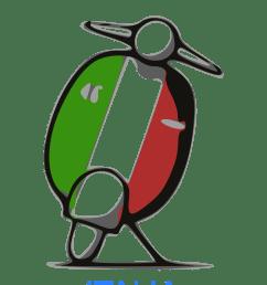 italian clipart travel italy [ 1697 x 2400 Pixel ]