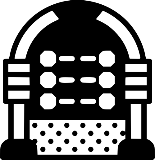 small resolution of jukebox clipart vector