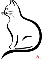 Kittens clipart simple cat Kittens simple cat Transparent FREE for download on WebStockReview 2020