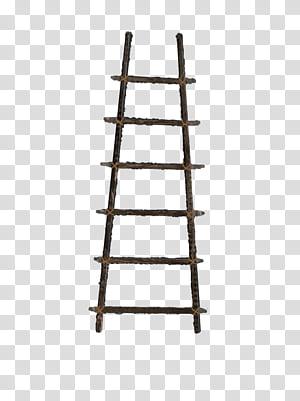 Ladder clipart rope ladder, Ladder rope ladder Transparent
